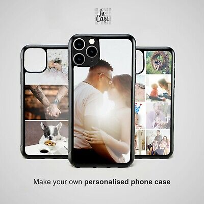 PERSONALIZED YOUR PHOTO CUSTOM COLLAGE WEDDING Silicone Rubber Phone Case Cover