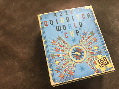 Harry Potter 422nd Quidditch World Cup Jigsaw Matchbox 150 Pieces Unused
