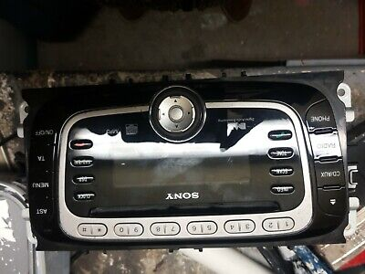 Ford S-Max Mondeo Focus Sony Single Disc Dab Stereo With Code Bs7T-18C939-Fc