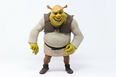 "Large 11"" Shrek Talking Speaking Figurine Figure Posable Character Dreamworks"
