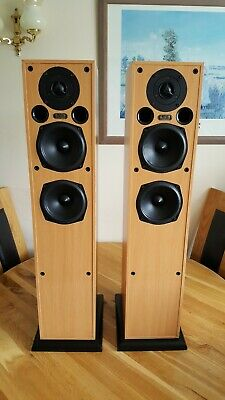 Acoustic Energy AE109 HiFi Floorstanding Speakers - 150 W + Original Boxes