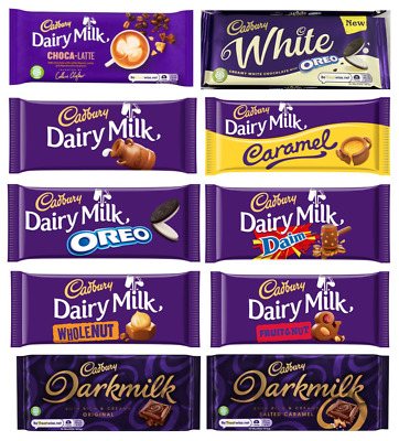 Cadbury Chocolate Selection All Flavours Pick N Mix Multi- Buy Uk Free P&P Gift