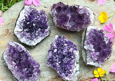 EXTRA LARGE URUGUAY AMETHYST Druze Crystal Cluster - approx. 201g to 250g A++