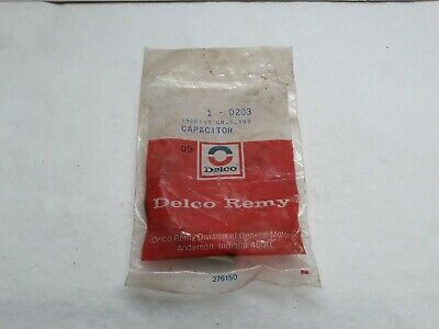 NOS Delco Remy D203 Ignition Capacitor New for Chevy Olds Le Sabre De Ville USA