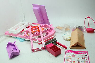SEE NOTES Barbie DLY32 3 Story Customizable Dream Townhouse w Elevator Pink
