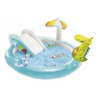 Gioco Playcenter Gonfiabile Piscina Bambini Intex Alligatore 57129