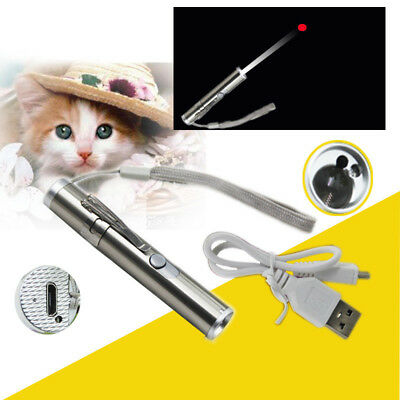 Mini LED Torch 3 in 1 UV Rechargeable Flashlight Laser Pen Multifunction Torch