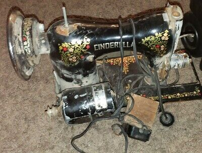 Cinderella Sewing Machine As Shown Of