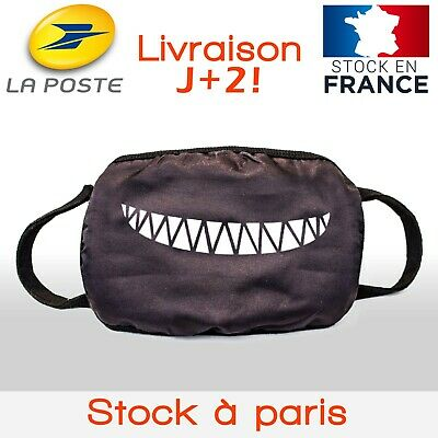 🔥FRENCH DAYS Livraison Offerte🔥Masque Grand Public Smile. Protection lavable
