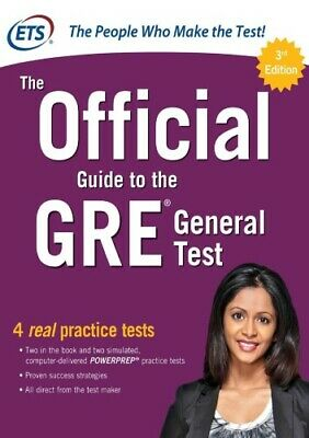 The Official Guide to the GRE General Test 3rd Edition by Educational Testing Se