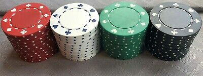 SUITS DESIGN 11.5g POKER/CASINO CHIPS - NEW - CHOOSE FROM DROP-DOWN MENU