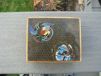 Antique Japanese Cloisonne Box