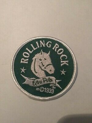 Rolling Rock Extra Pale Jacket Patch Rare