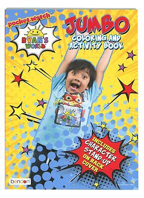 Ryan's World Coloring and Activity Book for Kids, 80 pages Art & Coloring Book