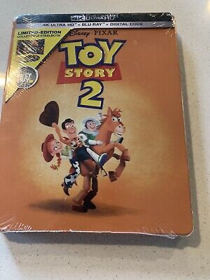 Disney Toy Story 2 4K Ultra HD + Blu-ray/Digital Steelbook™ LIMITED BRAND NEW