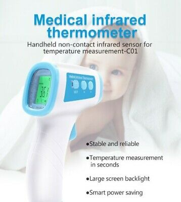 CE Medical Grade Non Contact Digital Infrared Forehead Thermometer Temperature