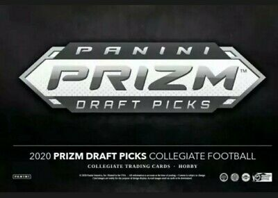 2020 Prizm Draft Picks Football Complete Set Rookies + Vets 1-170 Joe Burrow Tua