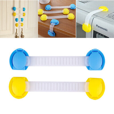 10pcs Baby Children Safety Protect Locks For Door Fridge Cupboard Cabinet Drawer