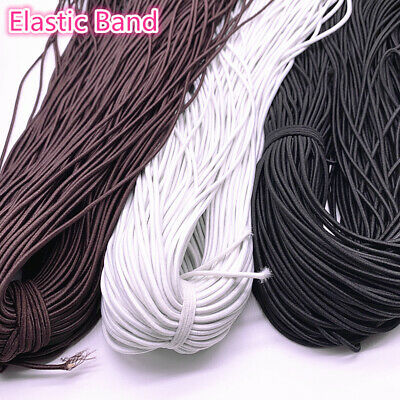 1.0-3.0mm High Elastic Round Elastic Band Rubber Band Elastic Cord Diy Sewing
