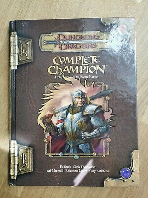 ✅ COMPLETE CHAMPION 3.5 ✅ Dungeons & Dragons D&D INGLESE MANUALE 3.0 ✅