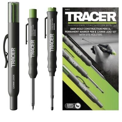 Tracer (Acer) Amk3 Deep Hole Pencil Double End Marker Pen Spare Lead Holster