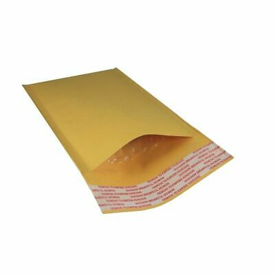 "50 Envelopes| 4x8 Kraft Bubble Mailers Padded Envelopes| 4""x8"" Size #000"