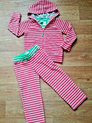 Girls age 5 years Mini Boden Tracksuit red flannel good condition