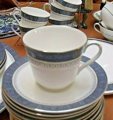 2 x ROYAL DOULTON Tea Cups & Saucers in the SHERBROOKE Pattern