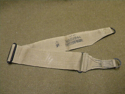 Strap carrying bag sangle musette M/36 US WWII WW2 british made JEEP para WAC