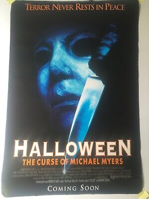 1995 HALLOWEEN original MOVIE POSTER rolled one sheet HORROR classic