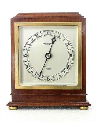 Vintage Elliott Of London Mantel Clock Fully Checked, Oiled & Working Well #2198