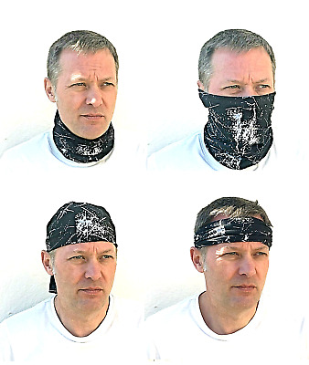 Cycling Neckwarmer, Facemask and Other Multifuncional Uses - Various Designs