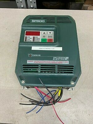 Used Reliance Electric Sp500 2Hp Drive 1Su41002