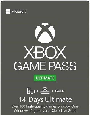 Xbox Game Pass Ultimate 14 Days Membership Code **FAST DELIVERY**