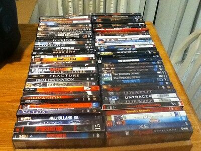 You Pick 10!!~Lot of 30+ Dvds Avail Horror, and Sci Fi Films, Please Use List!!