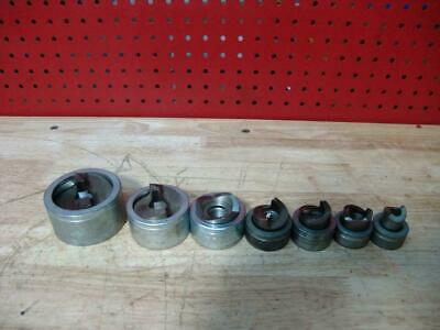 Greenlee Stainless Steel Knock-out Punch and Die Set  1/2 to 2 inch Great Shape