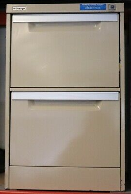 Filing Cabinet - Coform - 2 Drawer with key - Second Hand - E7