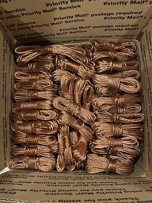 70Lbs Scrap Copper Wire Bare Bright Melt Material Craft jewelry