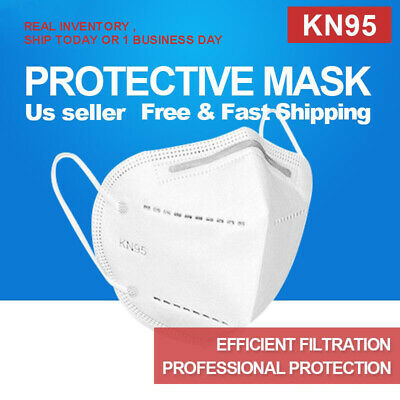 1/2/5/10/20/50 Pcs [5 LAYERS Mask Not N95] KN95 Face Mask,Disposable Shield