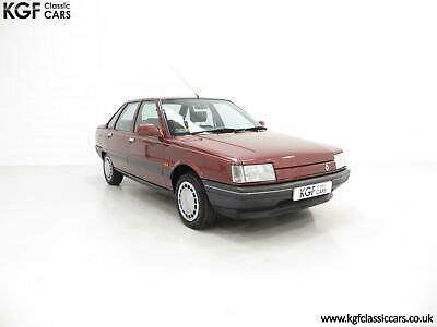 An Ex-Renault UK Press Department Renault 21 GTS Symphony with 16,027 Miles