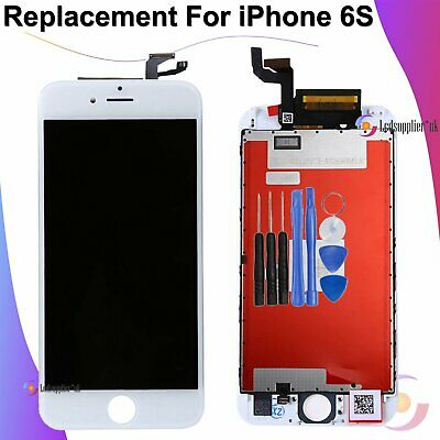 For iPhone 6S LCD Screen Digitizer Display 3D Touch Assembly Replacement White