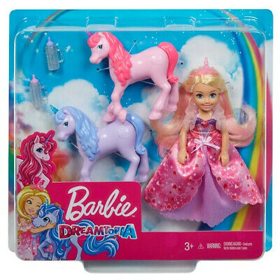 Barbie Dreamtopia - Chelsea Princess and Baby Unicorns