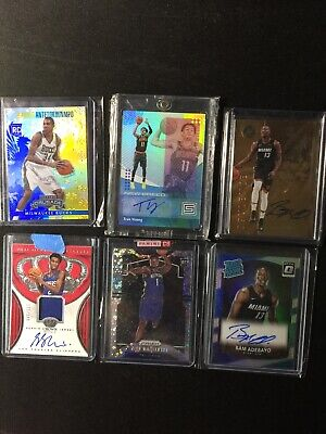 NBA Rookie HotPack Zion Luka Ja Trae JJJ SGA  5 Card REPACK LOT *READ* 05/14