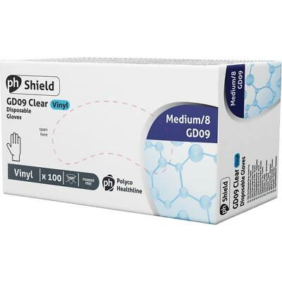 Disposable Vinyl Gloves Medical Gloves Powder Free Latex box 100 FAST DELIVERY