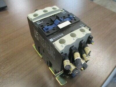 Telemecanique Contactor LC1 D4011 110V Coil 60A 600V Used