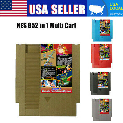 852 in 1 (405 + 447) Forever Duo NES Games For Nintendo Cartridge Multi Cart USA