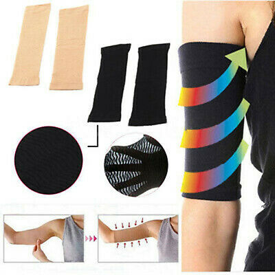 Women's Slimming Thin Weight Loss Arm Shaper Cellulite Fat Burner Wrap Belt Band