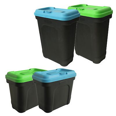 Large Pet Food Container Bin With Scoop For Animal Dry Feed Cat Dog Bird Seed