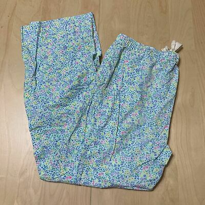 Gap LOVE  XSMALL Flowers Pants Pajama PJs Sleepwear Bottoms-EUC