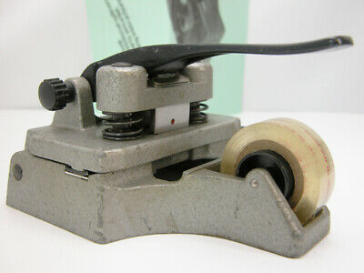 Professional CATOZZO 16MM FILM SPLICER W/Inst & Splicing Tape  Works Nicely!